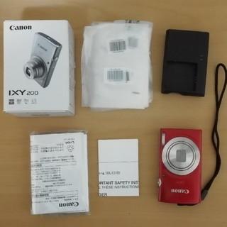 Canon - Canon ixy200 デジタルカメラ レッド