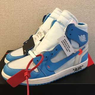 ナイキ(NIKE)の26.5cm NIKE AIR JORDAN 1 X OFF-WHITE NRG(スニーカー)