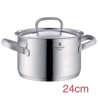 ヴェーエムエフ(WMF)のWMF グルメプラス ハイキャセロール 鍋 24cm(鍋/フライパン)