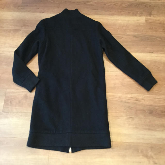 SHIPS(シップス)のships シップス ウールコート 黒 レディースのジャケット/アウター(ロングコート)の商品写真