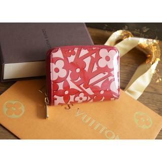 ルイヴィトン(LOUIS VUITTON)のルイヴィトン♡スウィートモノグラム コンパクト財布・小銭入れ♡赤ピンク エナメル(コインケース)