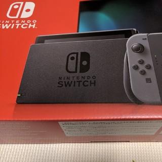 Nintendo Switch - 任天堂スイッチ グレー 新型 保証書あり