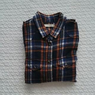ビームス(BEAMS)のBEAMS フランネルチェックシャツ 38(シャツ/ブラウス(長袖/七分))