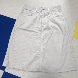 リー(Lee)のLeeコラボ コーデュロイタイトスカート(ひざ丈スカート)