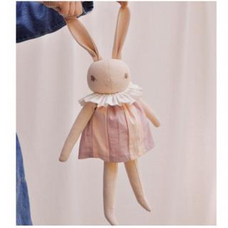 Caramel baby&child  - PDC Peach/medium rabbit with collar