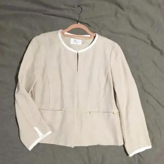 ルクールブラン(le.coeur blanc)のノーカラージャケット ルクールブラン 7分丈(ノーカラージャケット)