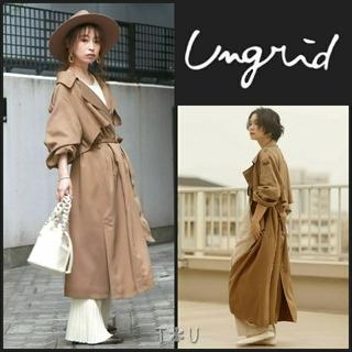 Ungrid - 【タグ付】 ungrid ルーズロングトレンチコート
