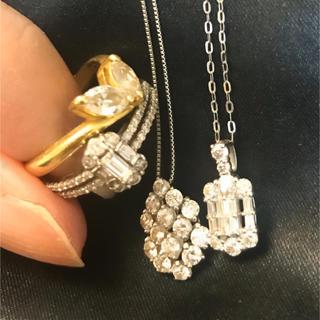 ダイヤモンドリング×2 ダイヤモンドネックレス×2(リング(指輪))