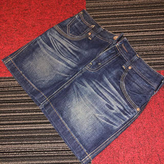 リーバイス(Levi's)のLevi's リーバイス ミニタイトスカート XS(ミニスカート)
