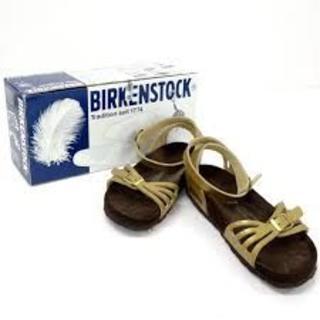 ビルケンシュトック(BIRKENSTOCK)のビルケンシュトック パルマ PALMA ゴールド Birkenstock(サンダル)