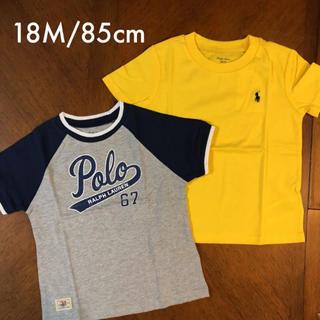 Ralph Lauren - RALPH LAUREN ♡ Tシャツ 18Mセット