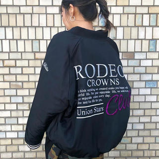 RODEO CROWNS WIDE BOWL - ALL STAR BIG ブルゾン ブラック