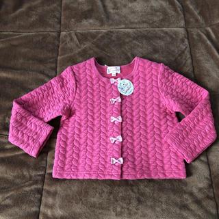 マザウェイズ(motherways)の新品♡マザウェイズ 女の子 カーディガン フォーマル  キルト 100 104(カーディガン)