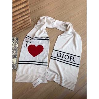 ディオール(Dior)のDIORAMOUR ニットマフラー (マフラー/ショール)