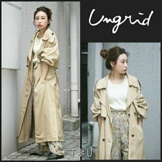 Ungrid - 【新品】 ungrid ルーズロングトレンチコート