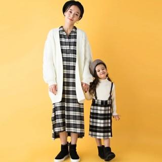 プティマイン(petit main)の【新品】プティマイン サスペンダー付きスカート(スカート)