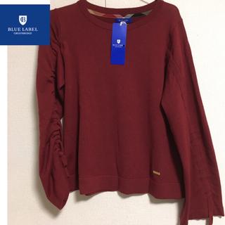 BURBERRY BLUE LABEL - ブルーレーベルクレストブリッジ  ニット セーター 新品 M