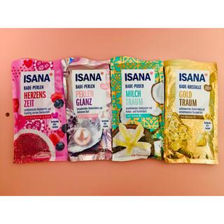 【日本未発売】ISANA 入浴剤 ドイツ製品✖︎4種類