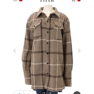 フィフス(fifth)のチェックオーバーサイズシャツジャケット(その他)