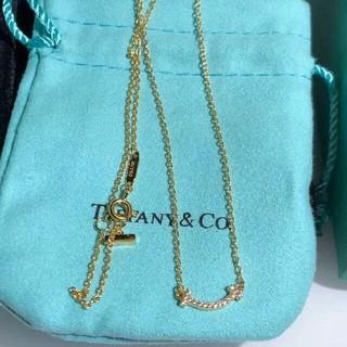Tiffany & Co. - TIFFANY 0026 Co. ティファニーT スマイル ネックレス