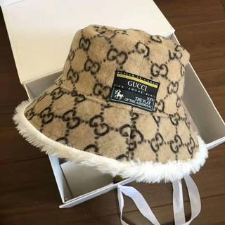 Gucci - 新作 【グッチ】 GGウールボブ ハット 帽子