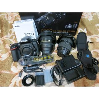 Nikon - ■Nikon D750 24-120 レンズキット+TAMRON 他 おまけ多数