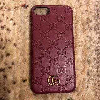 Gucci - グッチ gucci iPhoneカバー スマホカバー 7.8