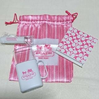 コーチ(COACH)のCOACHミラー・歯ブラシセット(袋付き)(歯ブラシ/デンタルフロス)