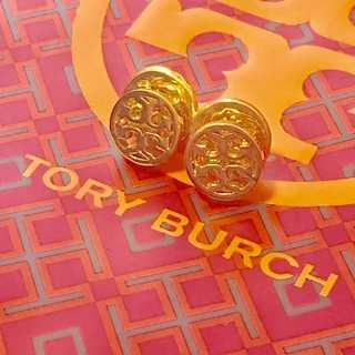 トリーバーチ(Tory Burch)のトリーバーチ ピアス Tory Burch ゴールド 未使用(ピアス)