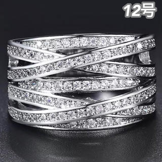 SWAROVSKI - ★定価7580円★【SWAROVSKI】12号 クリスタルリング ジェム 指輪