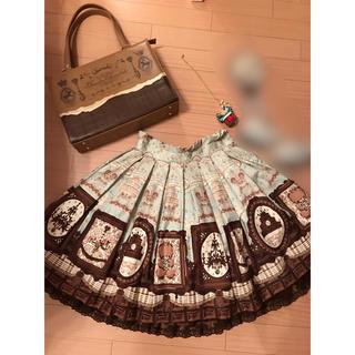 Angelic Pretty - Musee du chocolate スカート、チョコ小物セット