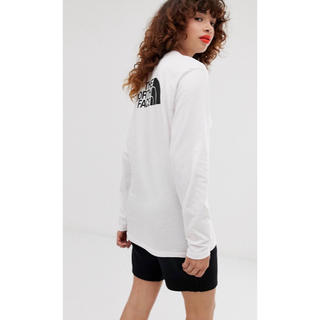 ザノースフェイス(THE NORTH FACE)の【XLサイズ】The North Face ロンT ノースフェイス ホワイト(Tシャツ(長袖/七分))