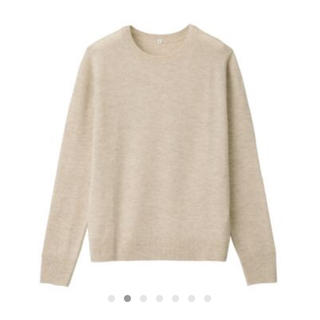 MUJI (無印良品) - ヤク混ウール クルーネックセーター