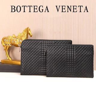 Bottega Veneta - ボッテガヴェネタ セカンドバッグ メンズ用 本革 両方サイズあり