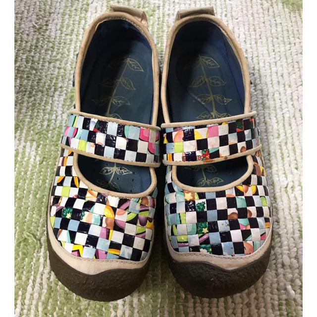 KEEN(キーン)のキーン 市松編 カラフルフラットシューズ レディースの靴/シューズ(その他)の商品写真
