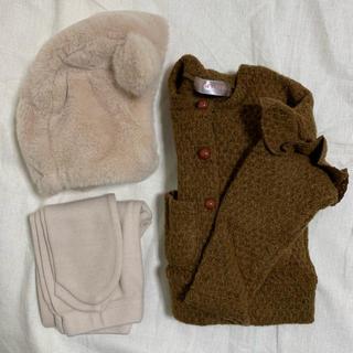 Caramel baby&child  - 新品 ベビー服 ニットカーディガン ブラウン