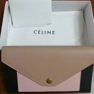 celine - CELINE セリーヌ 大人気 折り財布