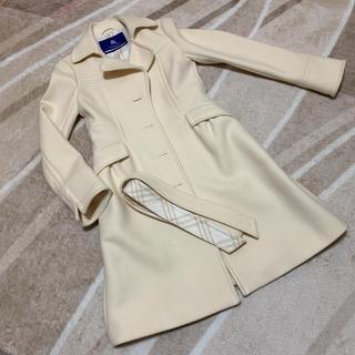 BURBERRY BLUE LABEL - バーバリーブルーレーベル  コート  オフホワイト