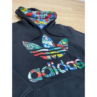 アディダス(adidas)の【adidas originals】マルチカラー トレフォイル パーカー(パーカー)