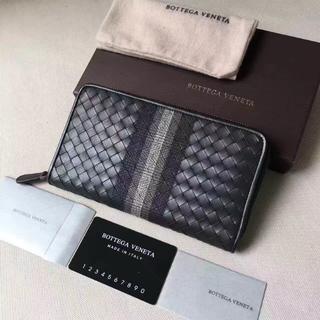 Bottega Veneta - ボッテガヴェネタ 長財布 メンズ用 箱付き 本革
