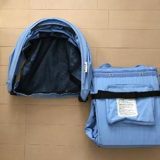 エアバギー(AIRBUGGY)の【新品】エアバギー ココシート&キャノピー着せ替えセット(ベビーカー/バギー)