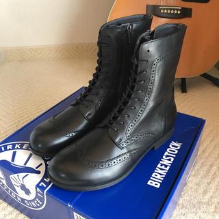ビルケンシュトック(BIRKENSTOCK)の新品名作★ビルケンシュトック★ララミーブーツ黒(ブーツ)