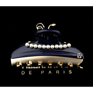 Alexandre de Paris - アレクサンドルドゥパリ クリップ ヴァンドームパール ネイビー 7.5