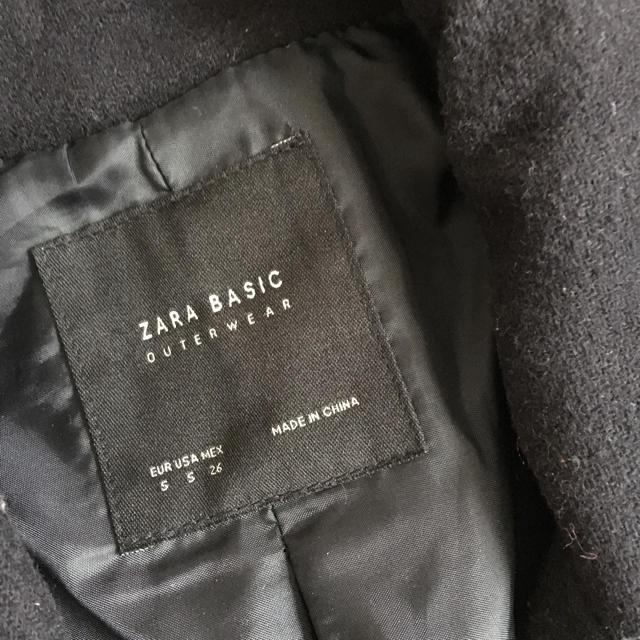 ZARA(ザラ)の【ZARA】Pコート レディースのジャケット/アウター(ピーコート)の商品写真