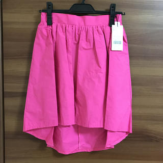 セシルマクビー(CECIL McBEE)のセシル ピンクスカート(ひざ丈スカート)