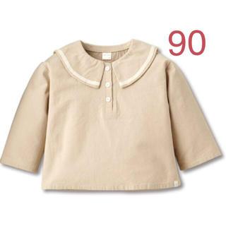 テータテート♡セーラ襟ブラウス 90