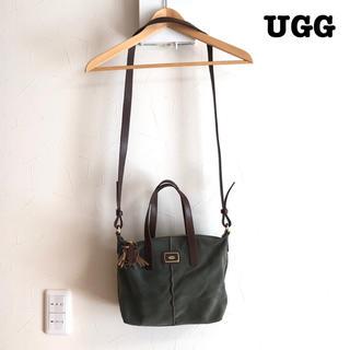 UGG - 【送料無料】UGG ショルダー バッグ オリーブ