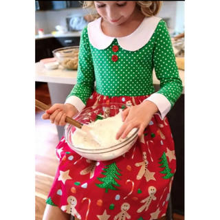 GYMBOREE - CHRISTMAS COOKIES PATTI DRESS  7-8