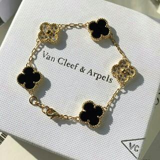 Van Cleef & Arpels - 素敵♥キラキラ Van Cleef & Arpels ブレスレット 本物 刻印