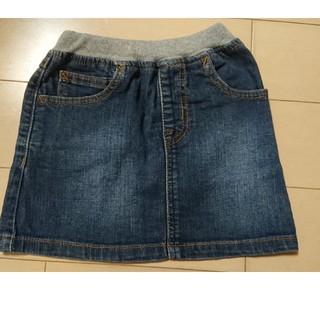 ムジルシリョウヒン(MUJI (無印良品))の無印良品 デニムスカート 80(スカート)